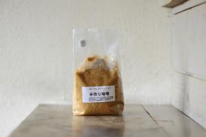 信州 望月 手作り味噌 有機自家栽培