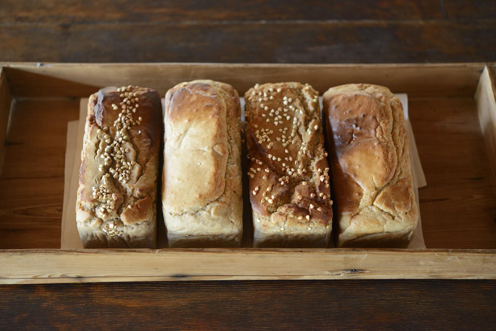 お得なそば粉パン3種セット