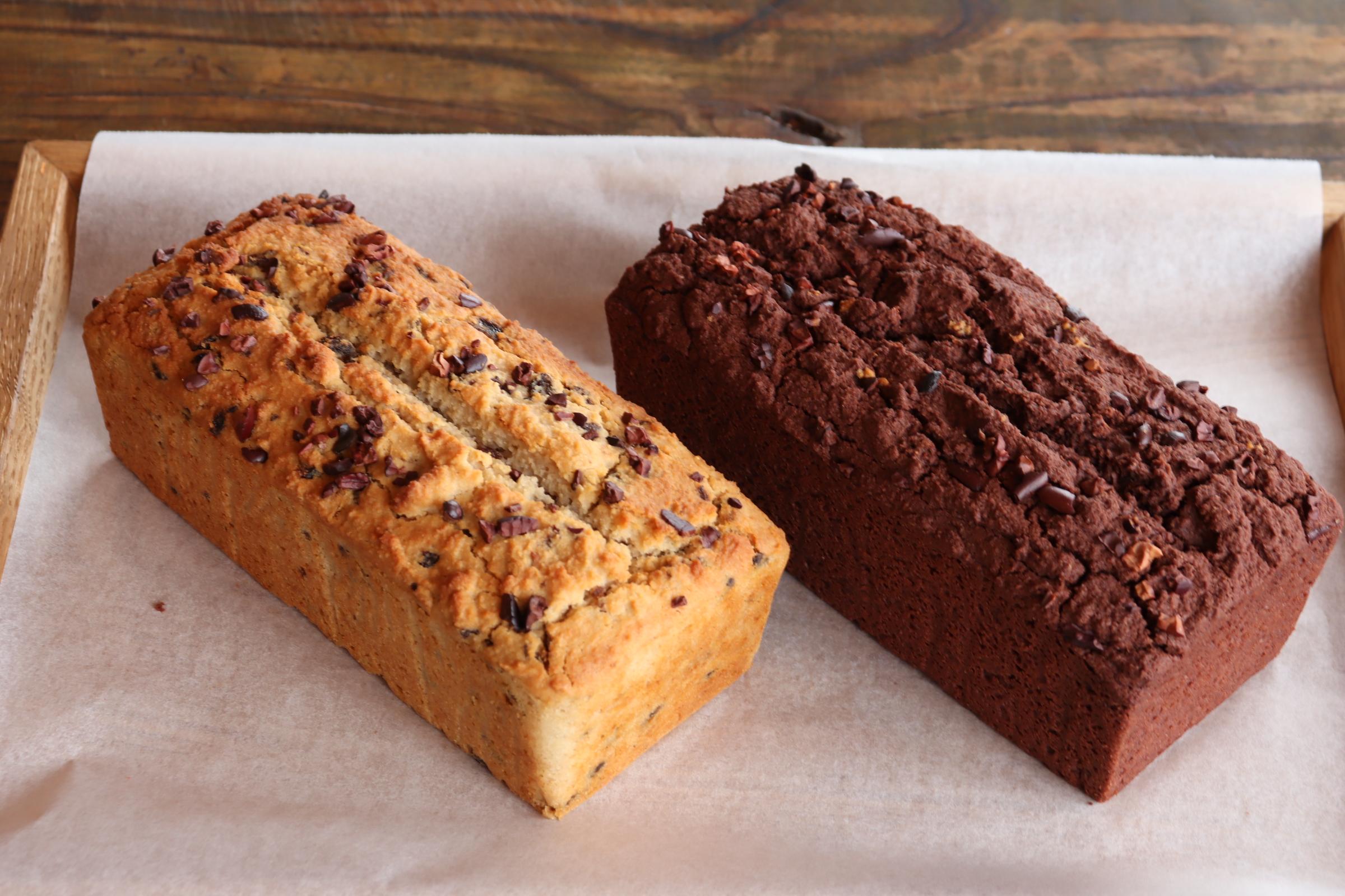 グルテン&シュガーフリーのラムレーズンケーキ