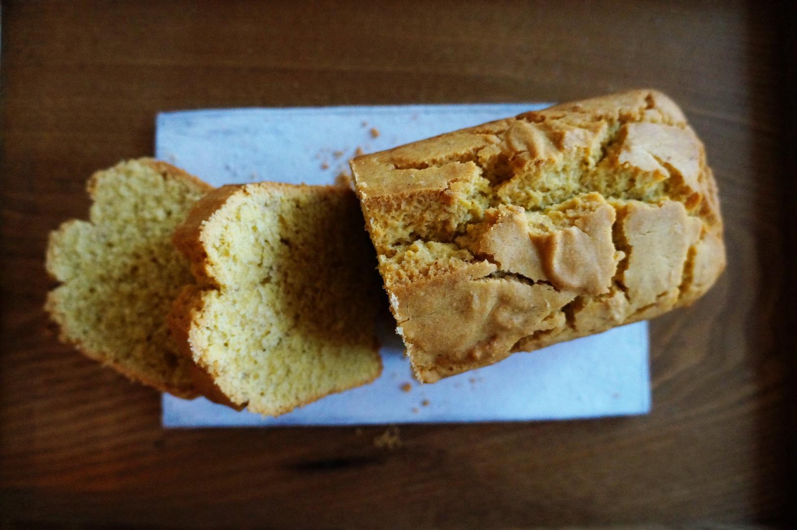 グルテンフリー コーンブレッドケーキ
