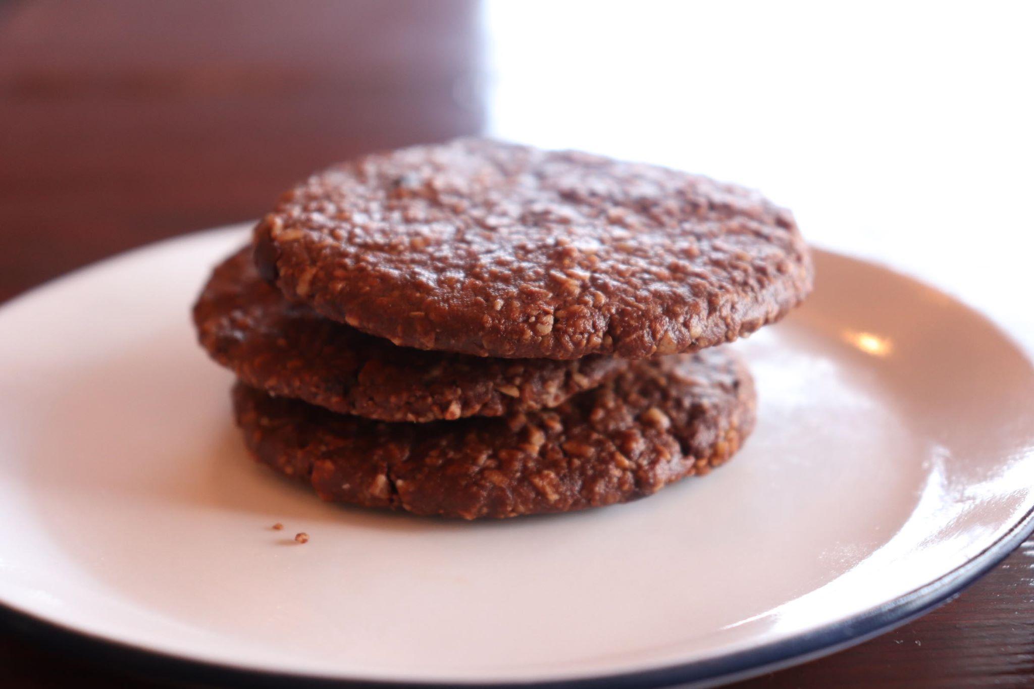 RAWアーモンドクッキー