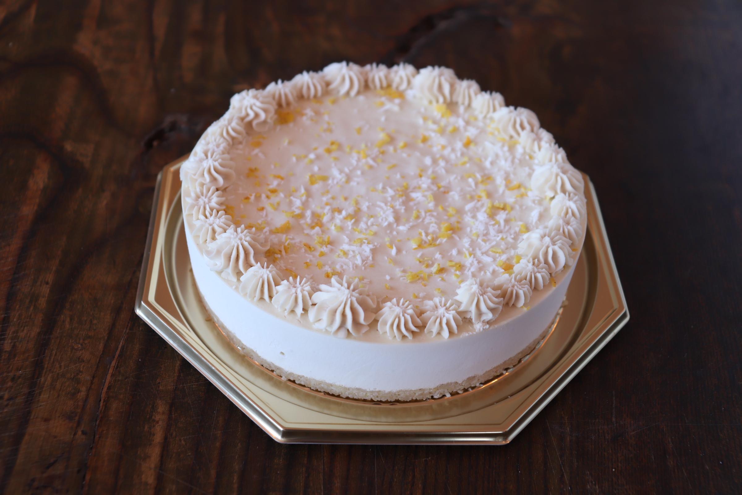 レモンの季節限定 RAWレモンケーキ