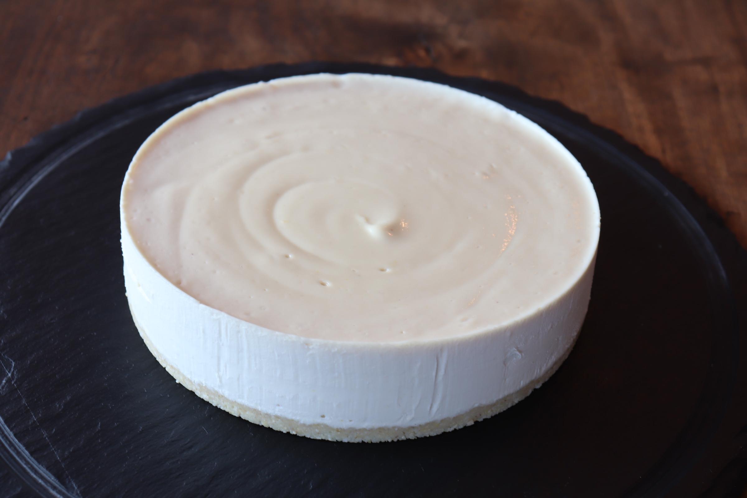 ローハニーのクリームチーズローケーキ