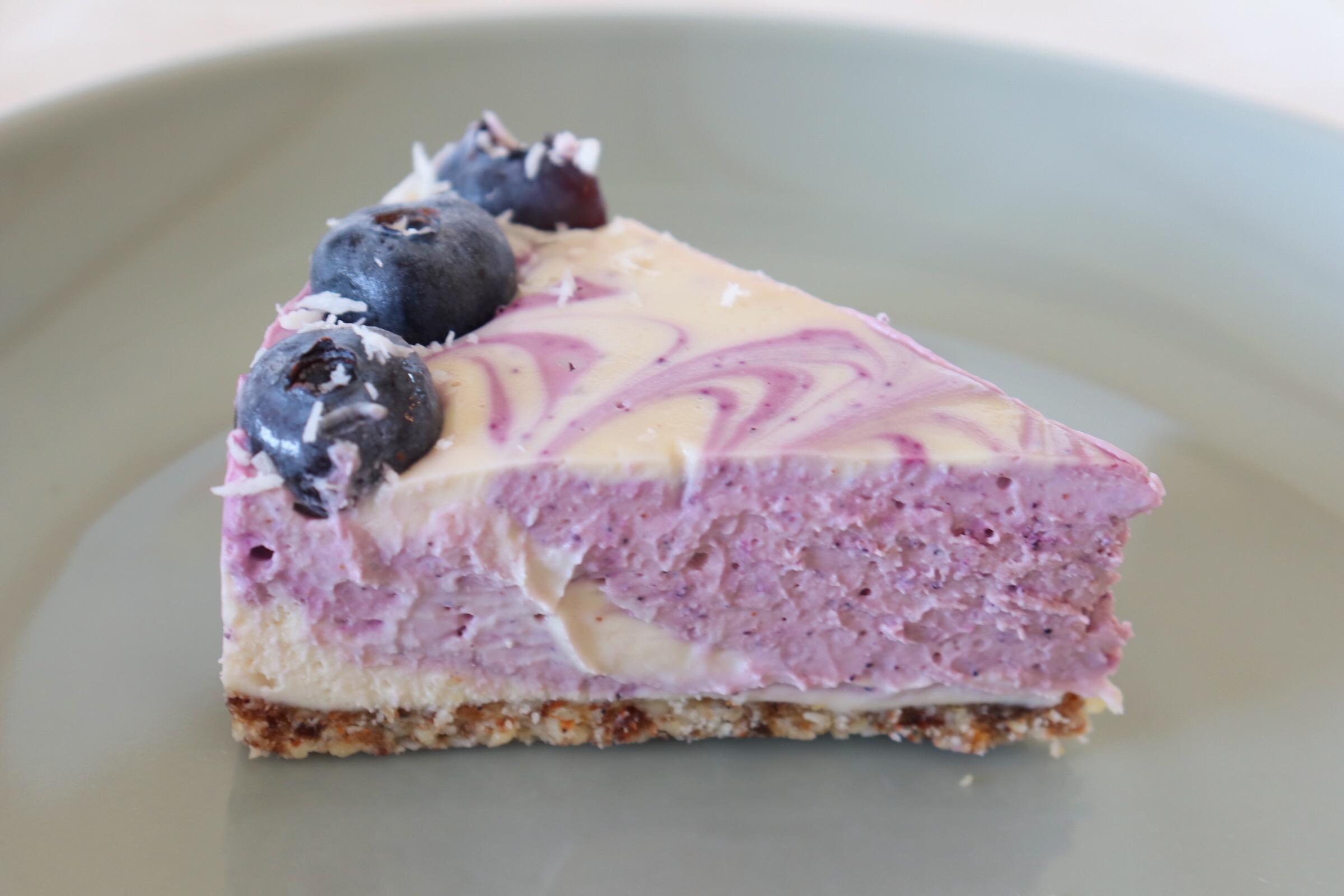 また来年!【季節限定】無農薬ブルーベリーのローケーキ