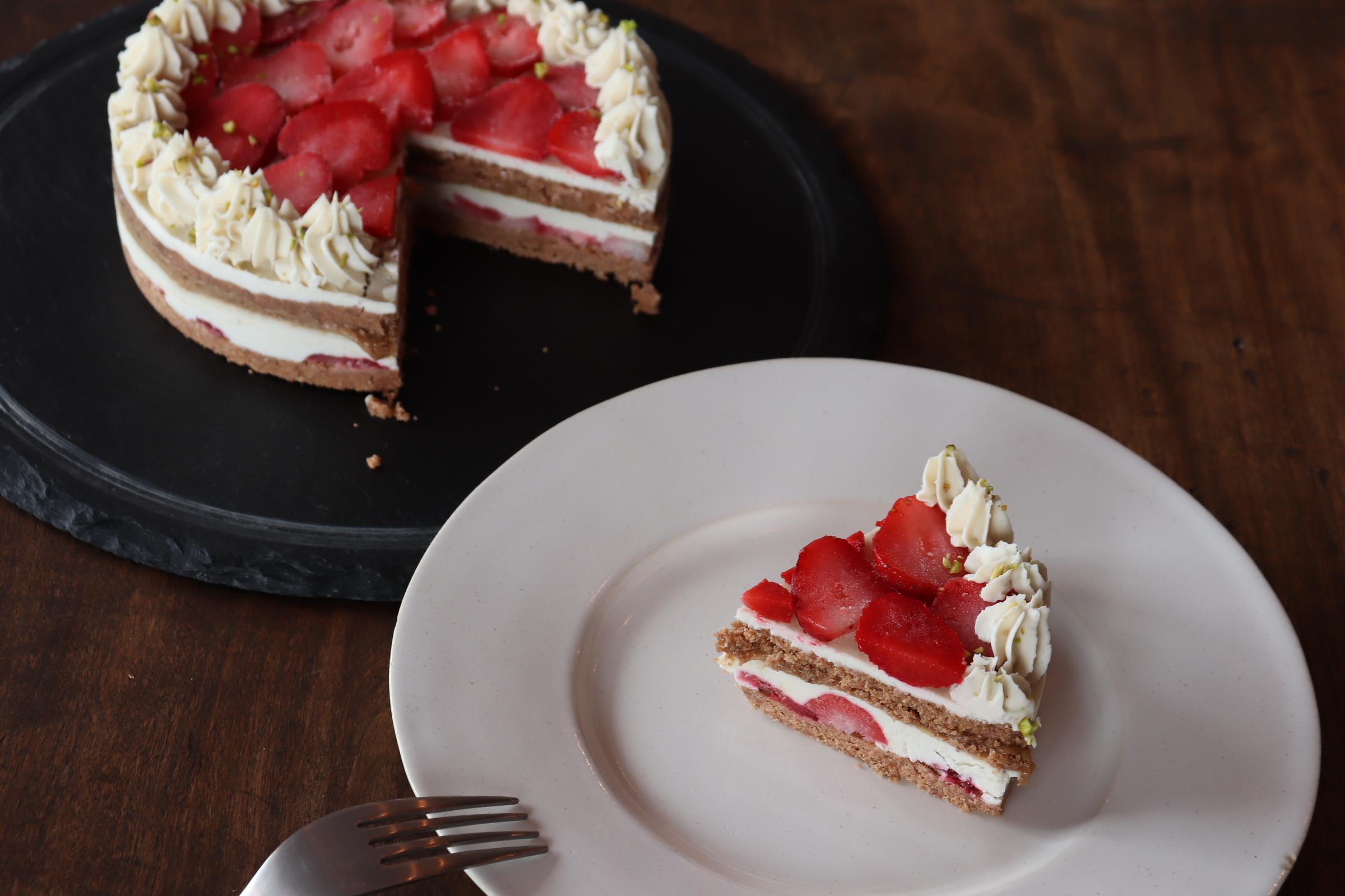 夢のようなRAWショートケーキ